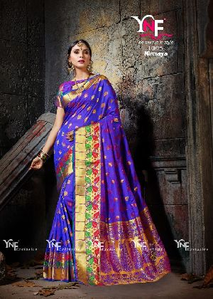 Nirmaya 1005 Cotton Silk Saree