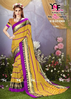 Nirupama 1001 Cotton Silk Saree
