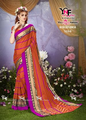 Nirupama 1004 Cotton Silk Saree
