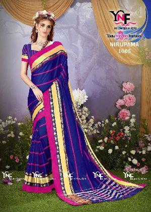 Nirupama 1005 Cotton Silk Saree
