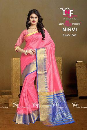 Nirvi 1003 Cotton Silk Saree