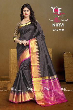 Nirvi 1004 Cotton Silk Saree