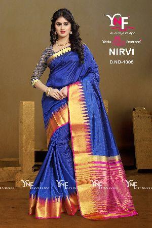 Nirvi 1005 Cotton Silk Saree