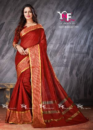 Nitiksha 1001 Cotton Silk Saree