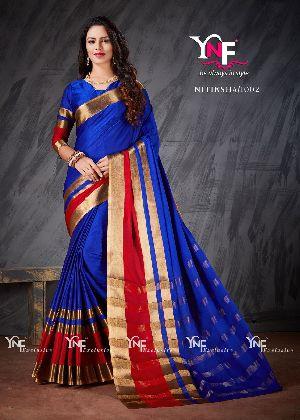Nitiksha 1002 Cotton Silk Saree