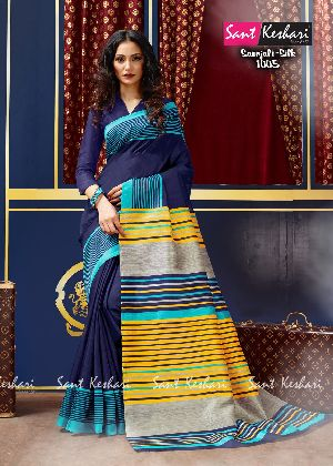 Saanjali 1005 Faux Georgette Saree