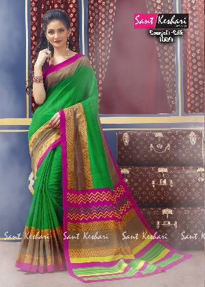 Saanjali 1009 Faux Georgette Saree