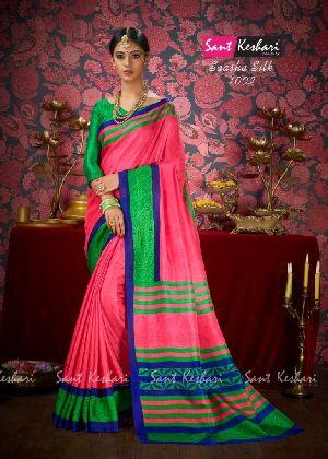 Saasha 1002 Bright Khadi Saree
