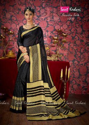 Saasha 1006 Bright Khadi Saree