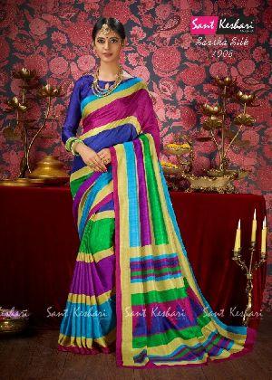 Saasha 1008 Bright Khadi Saree