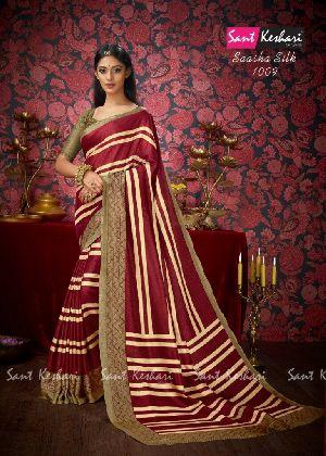 Saasha 1009 Bright Khadi Saree