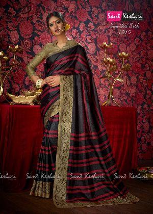 Saasha 1010 Bright Khadi Saree