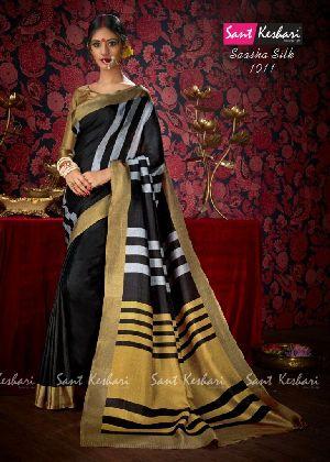 Saasha 1011 Bright Khadi Saree