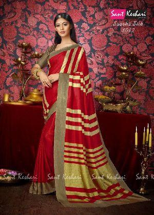Saasha 1012 Bright Khadi Saree