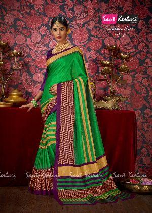 Saasha 1016 Bright Khadi Saree