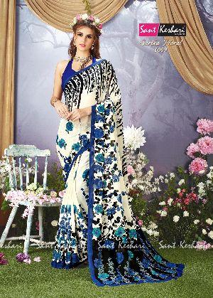 Sarika Floral 1009 Faux Georgette Saree