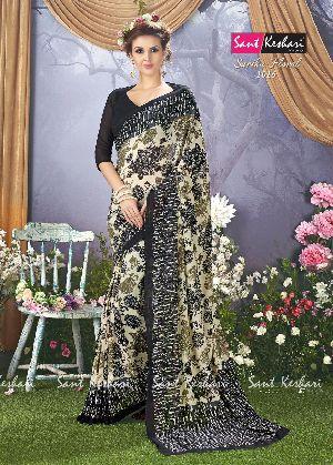 Sarika Floral 1016 Faux Georgette Saree