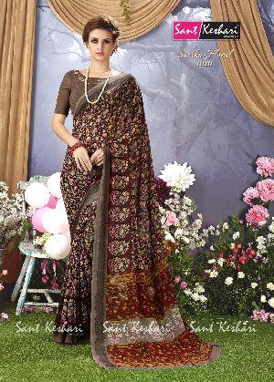 Sarika Floral 1020 Faux Georgette Saree