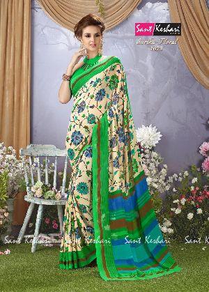 Sarika Floral 1023 Faux Georgette Saree