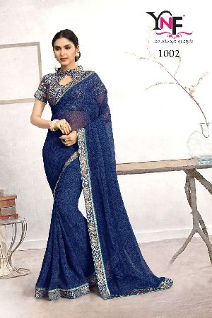 Sazda 1002 Faux Georgette Saree