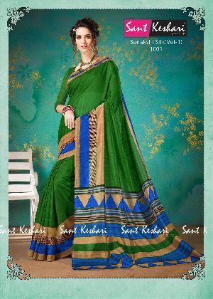 Sonakshi 1001 Bhagalpuri Cotton Saree