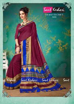 Sonakshi 1002 Bhagalpuri Cotton Saree