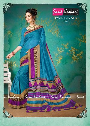 Sonakshi 1003 Bhagalpuri Cotton Saree
