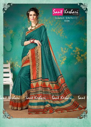Sonakshi 1004 Bhagalpuri Cotton Saree