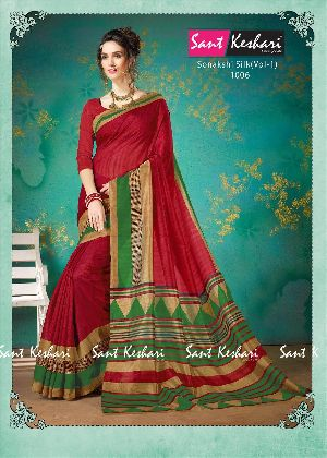 Sonakshi 1006 Bhagalpuri Cotton Saree