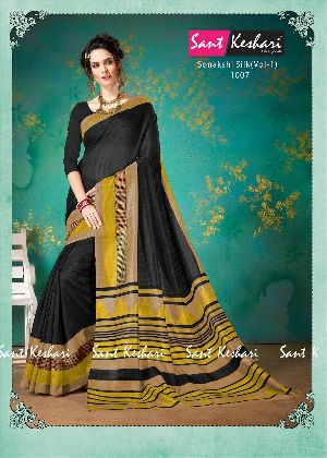 Sonakshi 1007 Bhagalpuri Cotton Saree