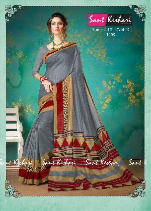 Sonakshi 1009 Bhagalpuri Cotton Saree