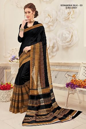 Sonakshi 3001 Bhagalpuri Cotton Saree