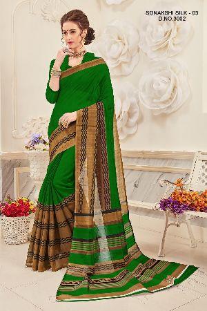 Sonakshi 3002 Bhagalpuri Cotton Saree