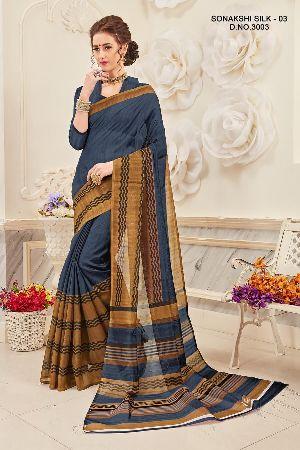Sonakshi 3003 Bhagalpuri Cotton Saree