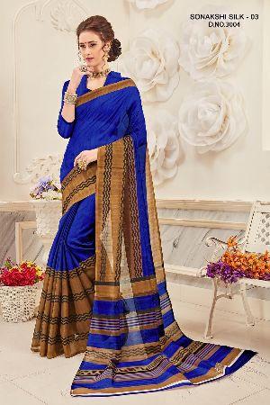 Sonakshi 3004 Bhagalpuri Cotton Saree