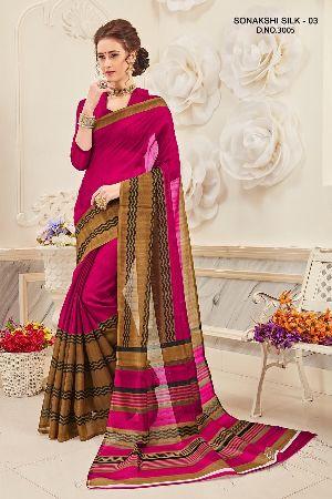 Sonakshi 3005 Bhagalpuri Cotton Saree