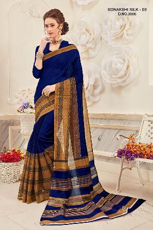 Sonakshi 3006 Bhagalpuri Cotton Saree