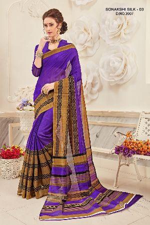 Sonakshi 3007 Bhagalpuri Cotton Saree