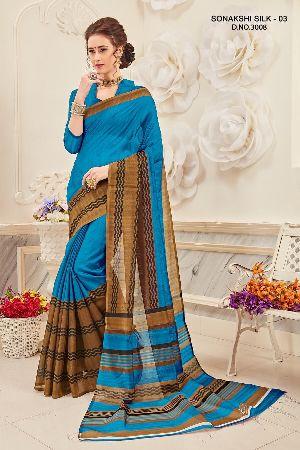 Sonakshi 3008 Bhagalpuri Cotton Saree