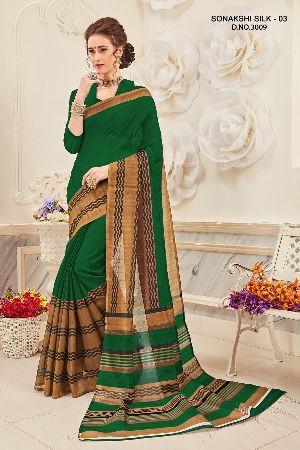 Sonakshi 3009 Bhagalpuri Cotton Saree