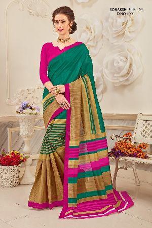 Sonakshi 4001 Bhagalpuri Cotton Saree
