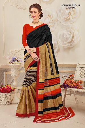 Sonakshi 4002 Bhagalpuri Cotton Saree