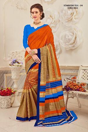 Sonakshi 4003 Bhagalpuri Cotton Saree