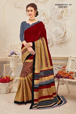 Sonakshi 4004 Bhagalpuri Cotton Saree
