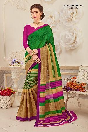 Sonakshi 4005 Bhagalpuri Cotton Saree