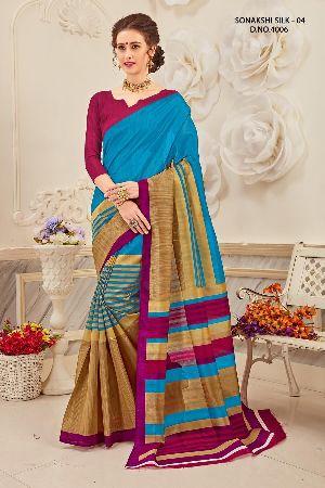 Sonakshi 4006 Bhagalpuri Cotton Saree