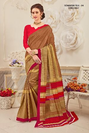 Sonakshi 4007 Bhagalpuri Cotton Saree