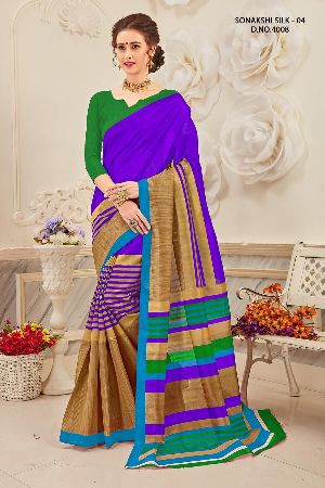 Sonakshi 4008 Bhagalpuri Cotton Saree