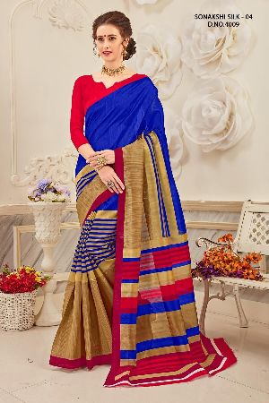 Sonakshi 4009 Bhagalpuri Cotton Saree