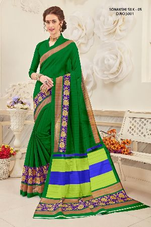 Sonakshi 5001 Bhagalpuri Cotton Saree